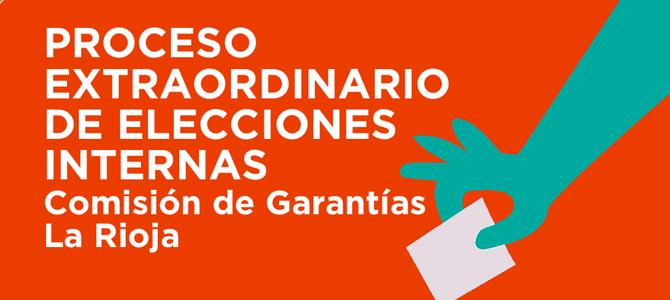 7 al 9 de Noviembre: La Rioja – Elecciones a la Comisión de Garantías